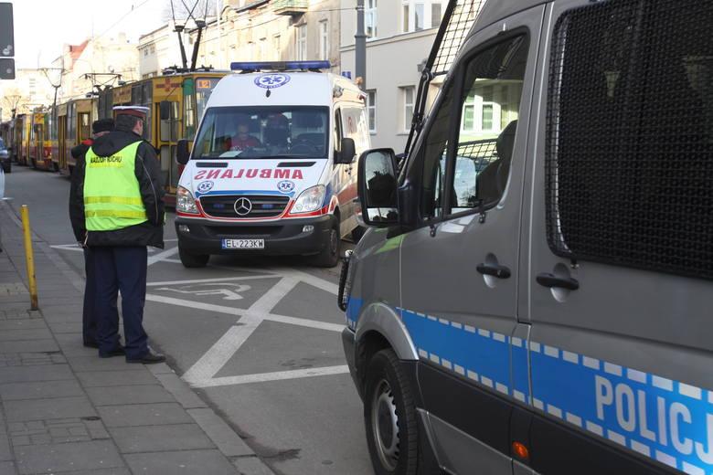 Wypadek na Gdańskiej. Piesza potrącona przez samochód [ZDJĘCIA+FILM]