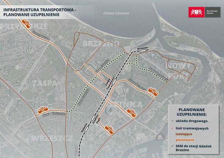 Urząd Miasta Gdańsk wybiera wariant połączenia tramwajowego, które ma usprawnić ruch pomiędzy Letnicą a Śródmieściem
