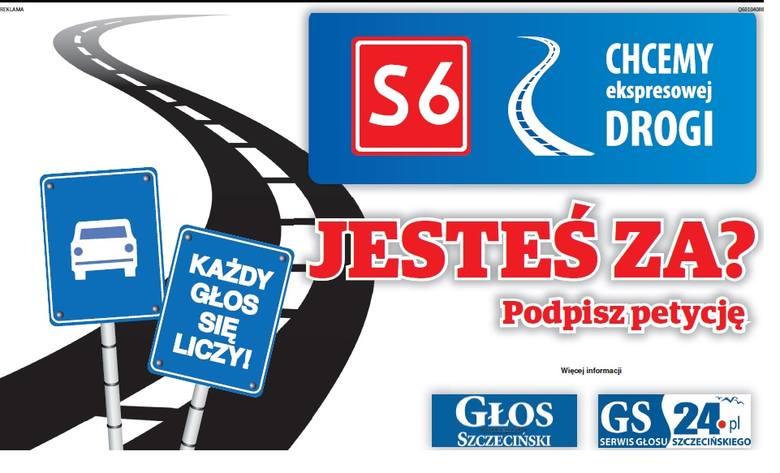S6 nie powinna zaczynać się w Goleniowie, ale już na granicy polsko-niemieckiej w Kołbaskowie