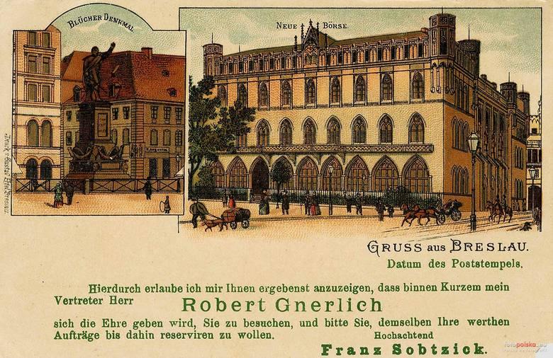 Archiwalne, przedwojenne zdjęcia budynku przy Krupniczej