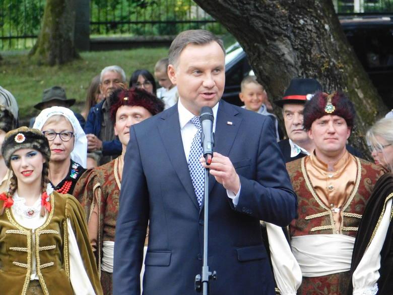 W piątek prezydent Andrzej Duda odwiedził nasz region. Po wizycie w Szczecinku, prezydent udał się do Drawska Pomorskiego, gdzie w parku im. Fryderyka