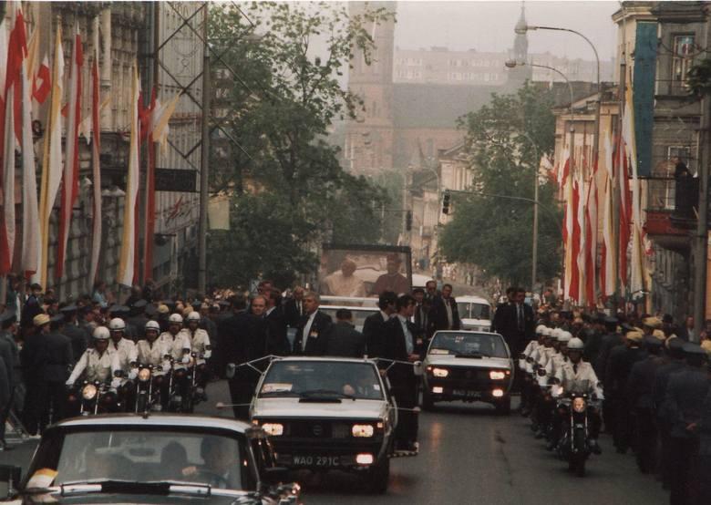 Pielgrzymka Jana Pawła II do Tarnowa w roku 1979. <br />