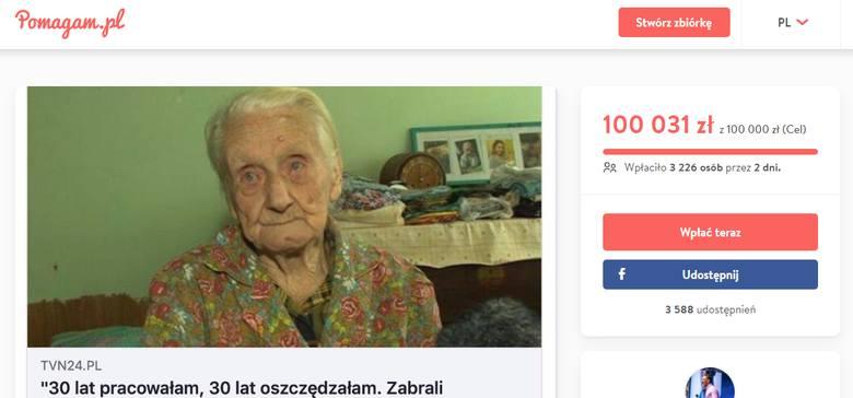 Ewa Bebek straciła 4 tys. zł, złodzieje ukradli oszczędności życia. Polacy zebrali ponad pół miliona dla 99-letniej babci z Bielska-Białej