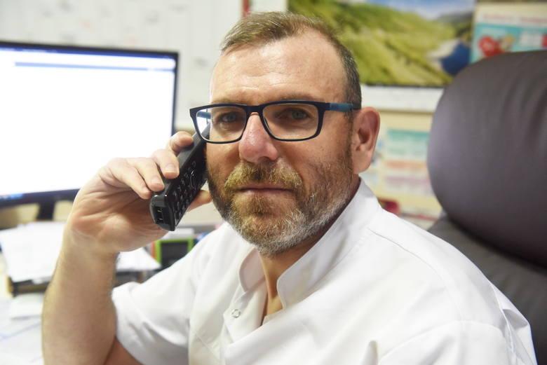 Do skorzystania pomocy medycznej z wykorzystaniem teleporady zachęca lekarz rodzinny z Zielonej Góry Tomasz Kremer