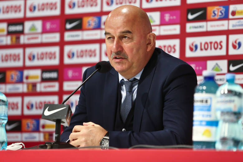 Trener reprezentacji Rosji Stanisław Czerczesow