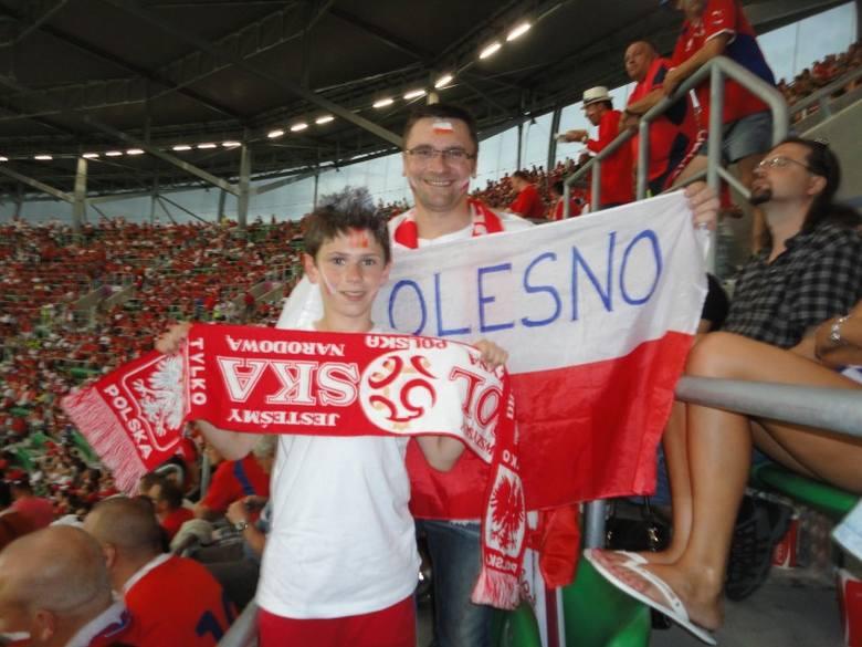 Nasi kibice byli na Stadionie Miejskim we Wrocławiu na meczu Polska-Czechy. Polacy niestety przegrali 0:1 i odpadli z turnieju Euro 2012. Na zdjęciu