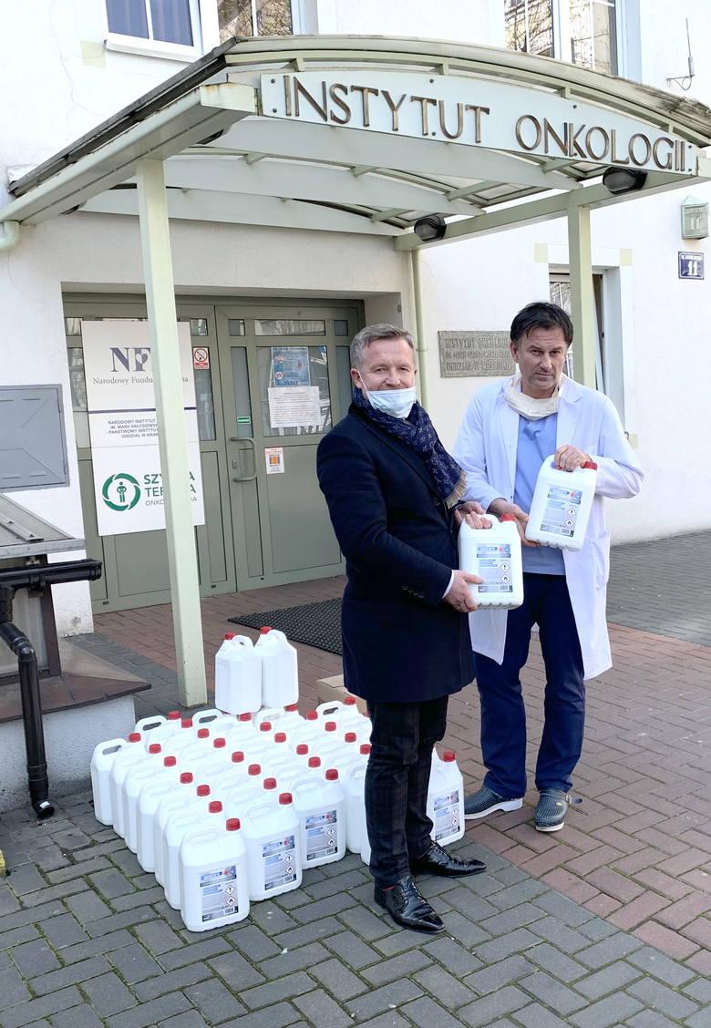 Innowacyjna Alventa przekazuje szpitalom w formie darów środki dezynfekcyjne i bakteriobójcze