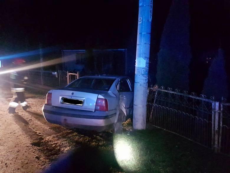 Do wypadku w Szczuczynie doszło we wtorek około godziny 5.10.