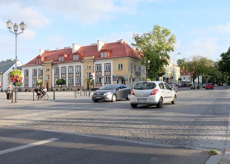 Ul. Sienkiewicza na skrzyżowaniu z ul. Rynek Kościuszki będzie remontowana (zdjęcia, wideo)
