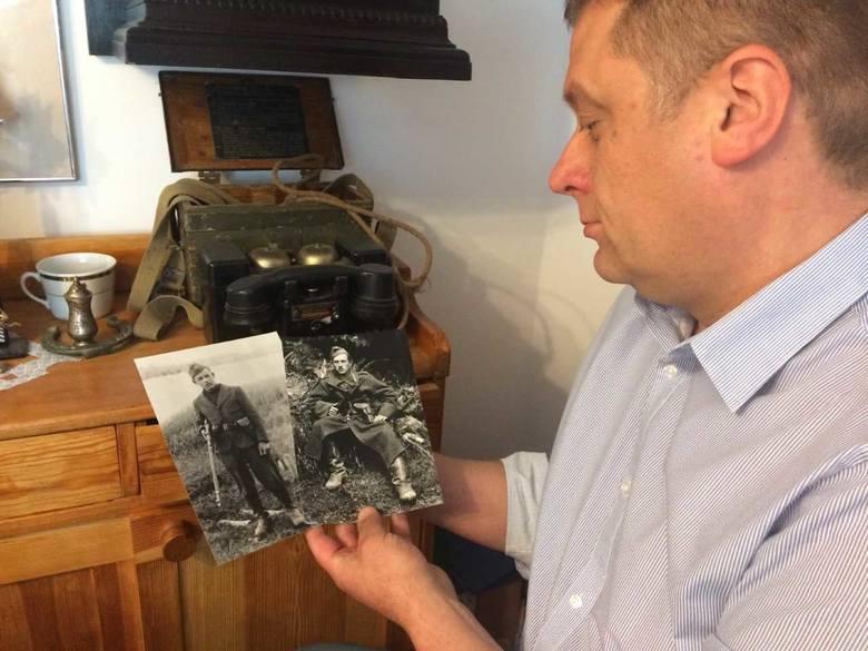 Marek Knoblauch prezentuje fotografie dwóch żołnierzy antykomunistycznego podziemia. Autor zdjęcia już nie żyje. Czy uda się ustalić tożsamość sfotografowanych?