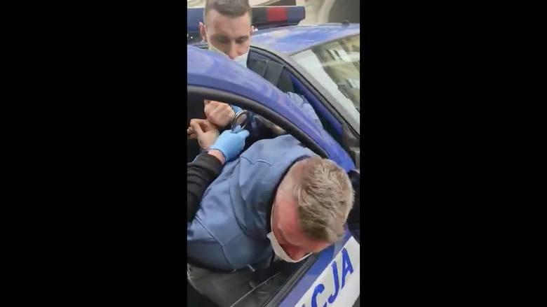 Interwencja bytowskiej policji.