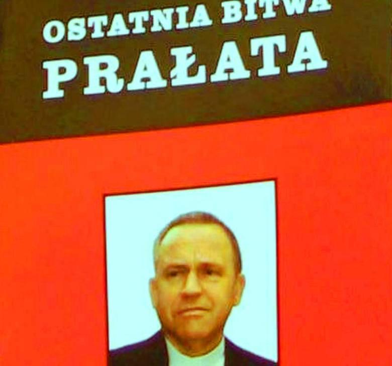 """Ostatnia bitwa prałata"" - książka autorstwa dr Petera Rainy"