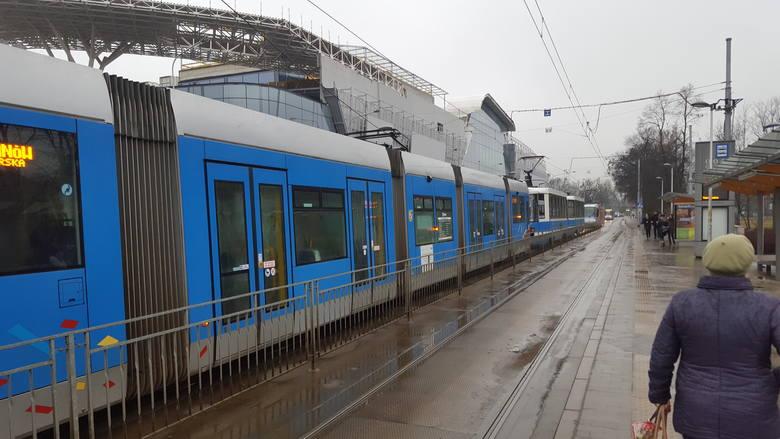 Utrudnienia koło Dworca Głównego we Wrocławiu
