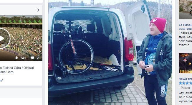 Trener Marek Cieślak znany jest ze swojego zamiłowania do kolarstwa