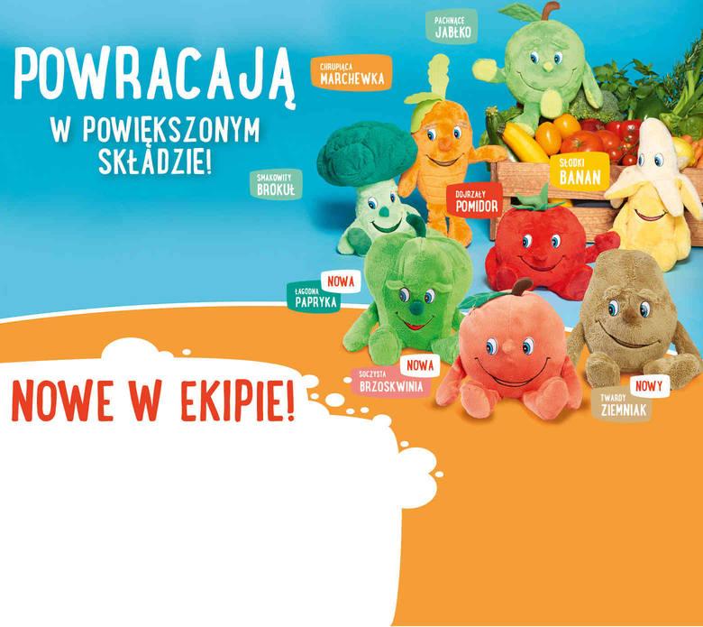 10 maja w sklepach sieci Lidl pojawią się maskotki Lidlaki.  Pojawiły się w sklepach w sierpniu ubiegłego roku. Wtedy Lidl Polska pierwszy raz wprowadził