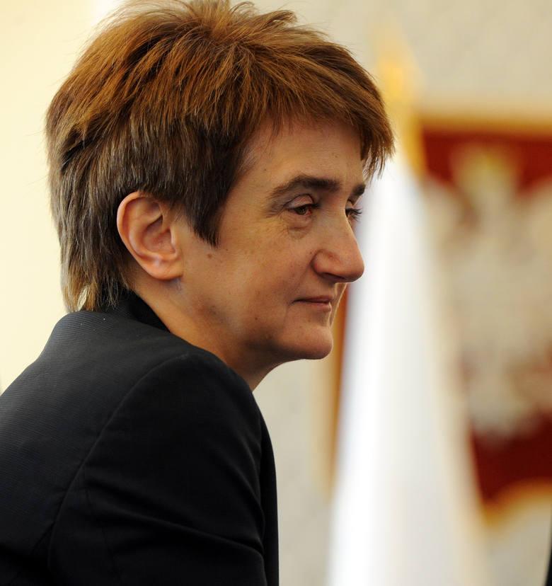 Maria Wasiak była ministrem infrastruktury w rządzie PO. Teraz ma odpowiadać m.in. za pozyskiwanie unijnych pieniędzy.