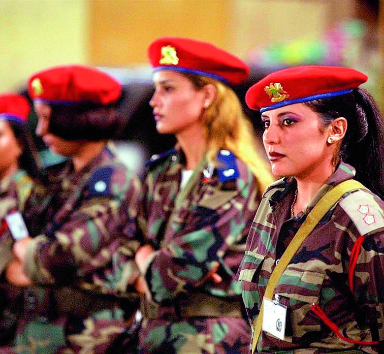 Ochrona Muammara Kaddafiego składała się z 40 kobiet. Kryterium ich wyboru była uroda