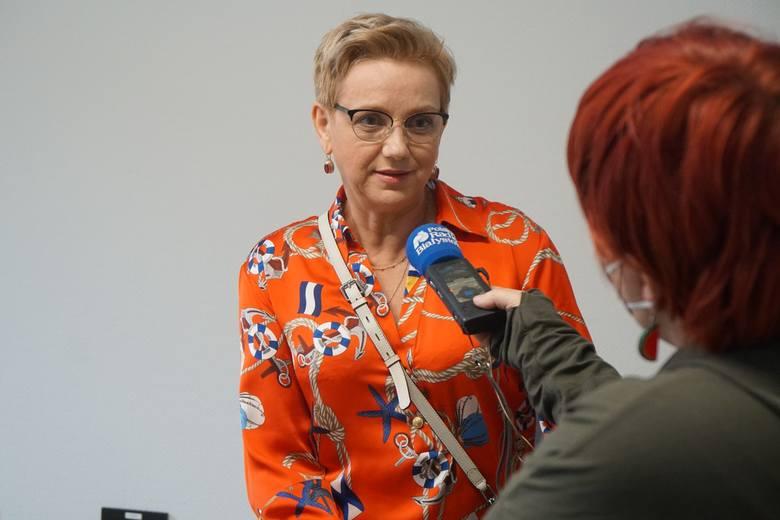 Dzwon Zwycięzcy zawisł w Białostockim Centrum Onkologii (30 marca 2021 r.)