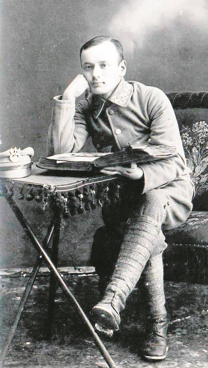 Legitymacja Orderu Virtuti Militari Alojzego Kaczmarczyka