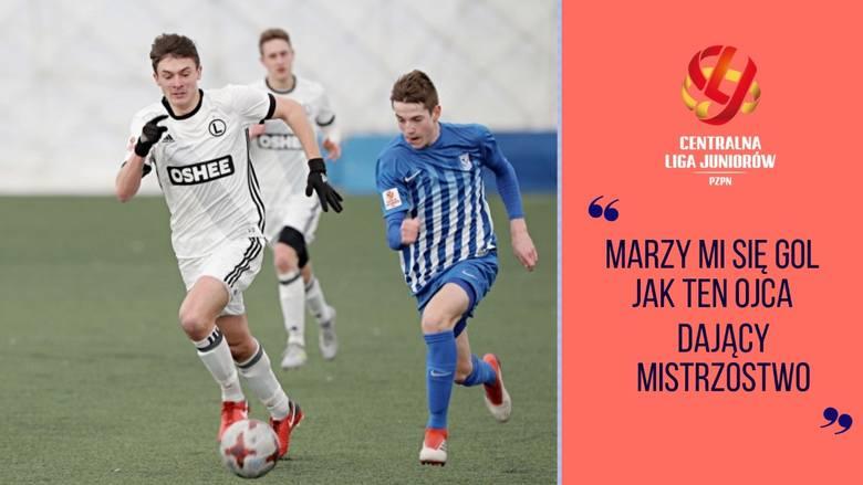 Centralna Liga Juniorów | Polska młodzież coraz bardziej ceniona, Synowie legionistów idą w ślady ojców | Flesz Sportowy24
