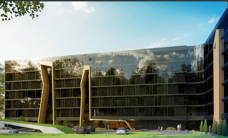 Wizualizacja przyszłego hotelu