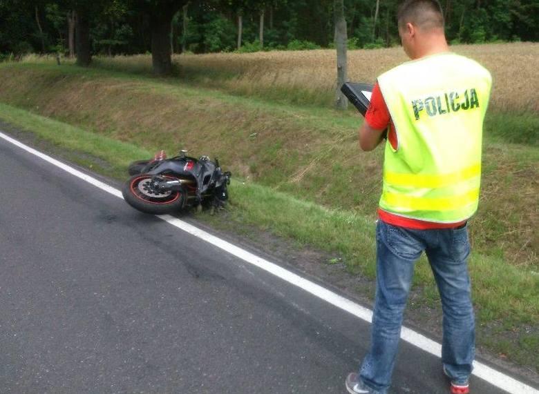 W wypadku na drodze nr 31 między Kostrzynem i Słubicami zginął młody motocyklista.