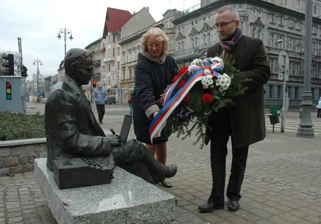 Janina Sylwestrzak, córka Mariana Rejewskiego, niestrudzenie propaguje wiedzę o dokonaniach polskich kryptologów