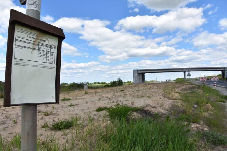 21 maja na placu budowy S5 w miejscowościach Zawada (gm. Pruszcz) oraz Wiąg (gm. Świecie) niewiele się działo. Jadąc w stronę Bydgoszczy, w okolicy Kusowa