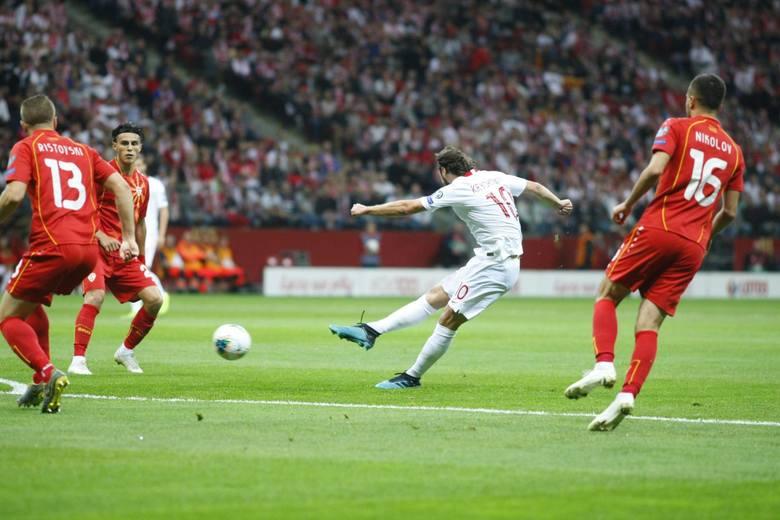 Polska - Macedonia Północna 2:0 (0:0)75' Frankowski, 80' Milik