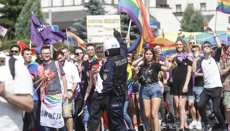 Marsz Równości przeszedł ulicami Rzeszowa.
