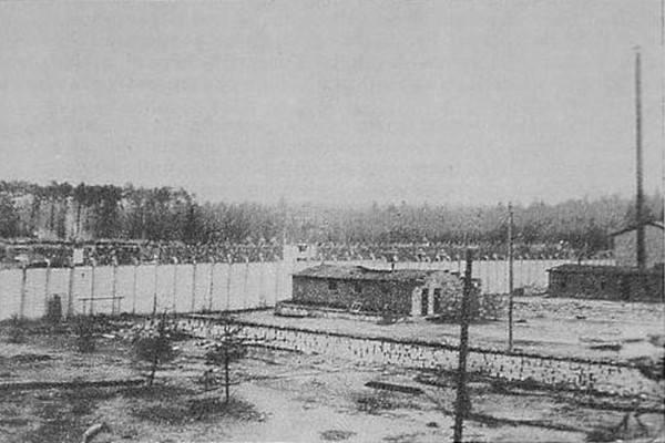 Zdjęcie obozu Blechhammer