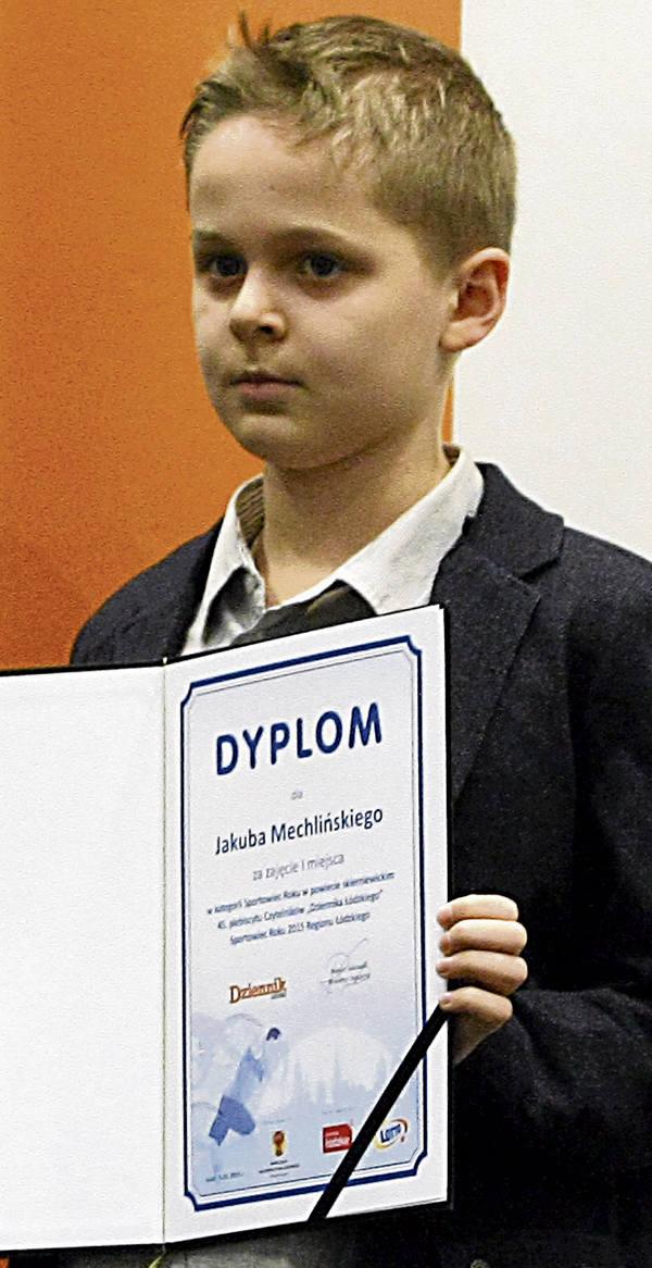 Jakub Mechliński to ścisły umysł, jest zawodnikiem Klubu Szachowego Piątka Skierniewice