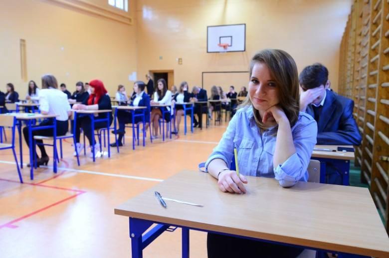 Egzamin w Gimnazjum nr 50 w Poznaniu