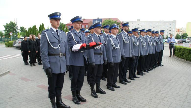 Świętowali przasnyscy policjanci [ZDJĘCIA, LISTA AWANSOWANYCH]
