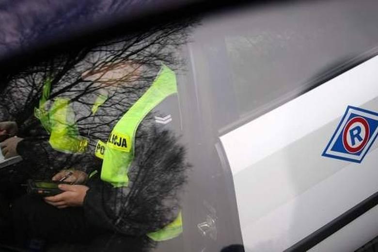 Krajowa Mapa Zagrożeń Bezpieczeństwa w Białymstoku. Kierowca stracił prawo jazdy