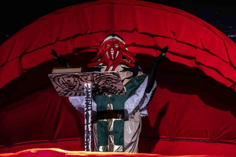 """W najbliższą sobotę (22.02.2020) odbędzie się kolejna premiera w Teatrze Wilama Horzycy. Na Scenie na Zapleczu zaprezentowany zostanie spektakl """"Gargantua"""