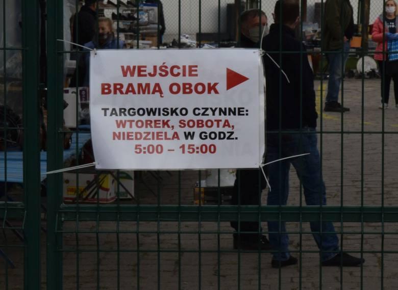 Targowisko miejskie w Ostrołęce już czynne. Zobaczcie zdjęcia 5.05.2020