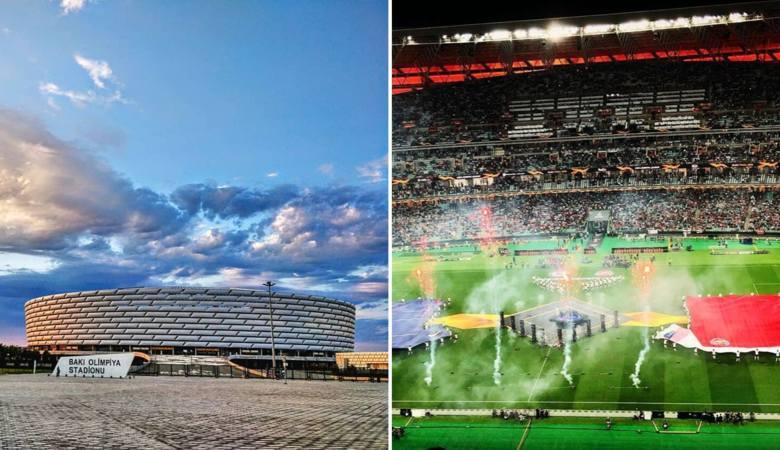 Nazwa: Stadion Olimpijski Pojemność: 69000 Rok powstania: 2015Gospodarz: reprezentacja Azerbejdżanu Mecze na Euro 2020:13 czerwca, sobota - mecz grupy