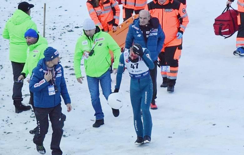 Puchar Świata w Wiśle. Dramatyczny upadek Piotra Żyły