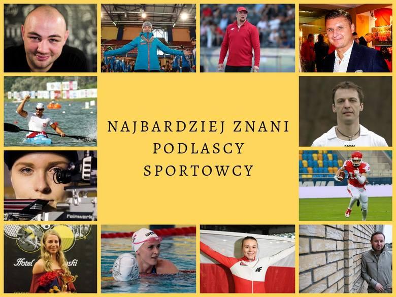 Przedstawiamy TOP 45 najbardziej znanych i rozpoznawalnych sportowców z województwa podlaskiego. To piłkarze, bokserzy, lekkoatleci, łyżwiarze czy kajakarze.