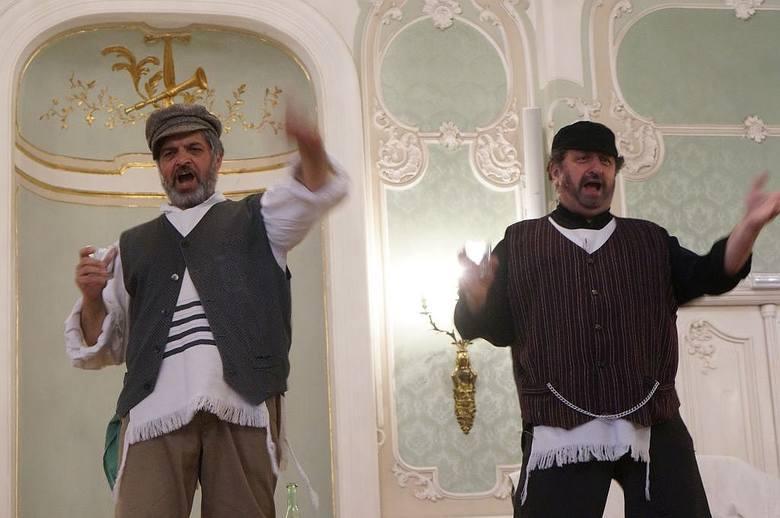 Pałac Branickich. Aula Magna. Teatr Żydowski, spektakl Gdybym był bogaczem na festiwalu Zachor 2016