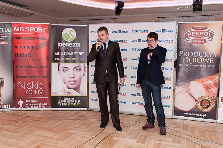 Finał Plebiscytu Sportowiec Roku 2014 miał miejsce w Pensjonacie Wioletta przy ulicy Rolnej.