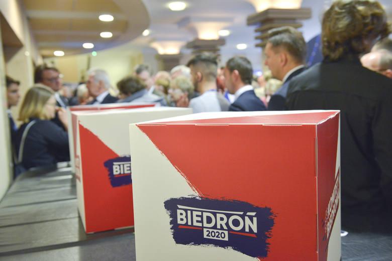19 stycznia w Słupsku odbyła się konwencja Roberta Biedronia.