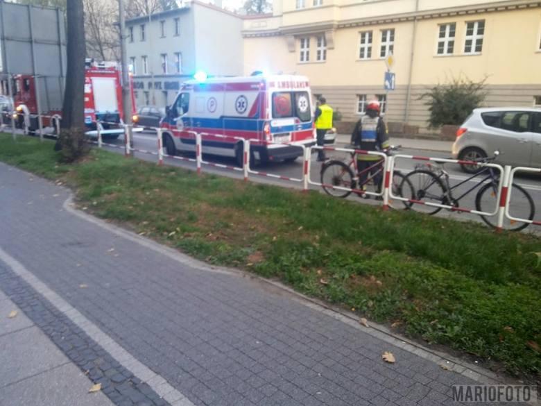 Wypadek na Armii Krajowej w Brzegu. Ciężarówka potrąciła rowerzystę