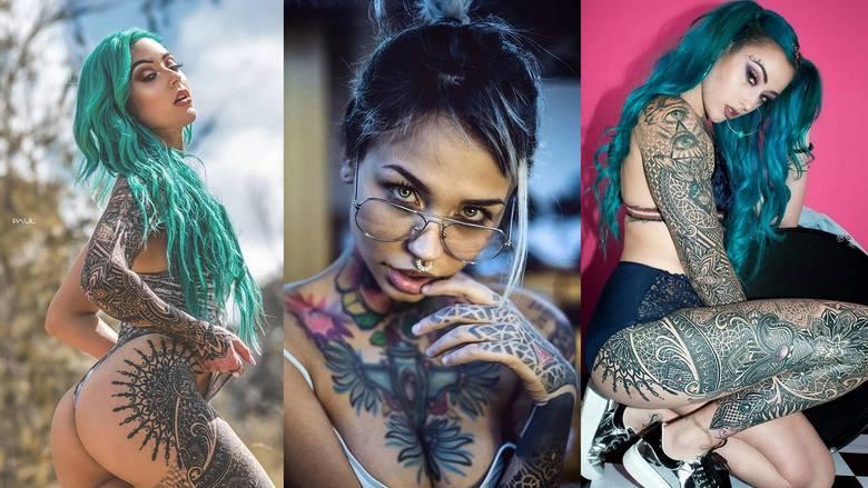 Czy dziewczyna może dobrze wyglądać z tatuażem? [SZOKUJĄCE WZORY] Komu to pasuje?