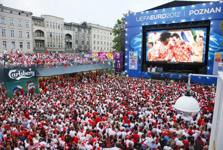 UEFA Euro 2012. Poznań był jednym z miast gospodarzy tamtych mistrzostw