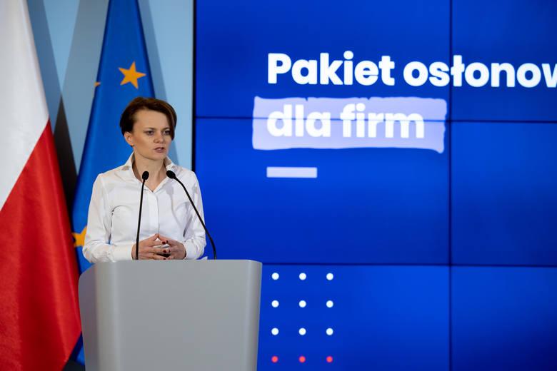 Minister Jadwiga Emilewicz: - Profilaktyka jest ważna, by zachować zdrowie. Podobnie ważne jest zapobieganie niepożądanym zjawiskom w gospodarce. Właśnie
