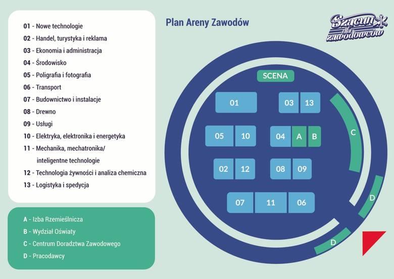 Arena Zawodów w hali Arena w Poznaniu