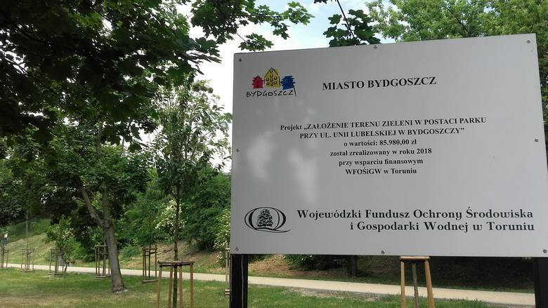 Rewitalizację parku, którą finansowano m.in. ze środków unijnych zakończono w 2018 roku, ale ciągle jeszcze trwają tu drobne prace