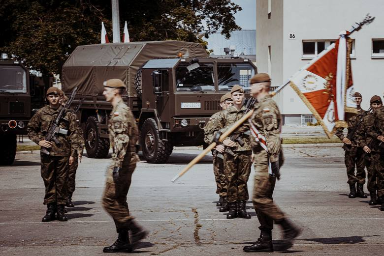 Podlascy Terytorialsi w Białymstoku wypowiedzieli słowa roty przysięgi wojskowej